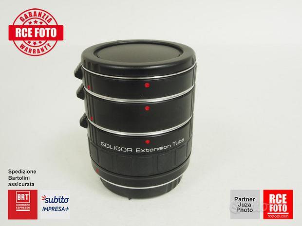 Soligor Extension Tubes 12 + 20 + 36 (Canon)