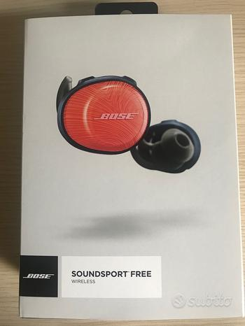 Cuffie bose sound sport free bluetooth