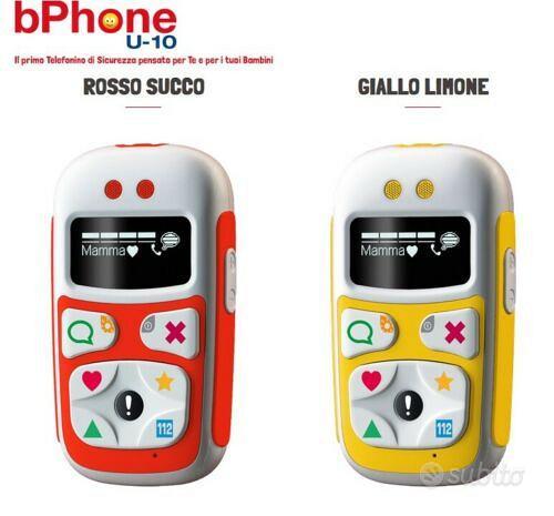 BPhone U-10 GioMax telefono GSM sicurezza bambini