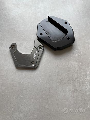 Estensione cavalletto laterale Kawasaki Versys 650