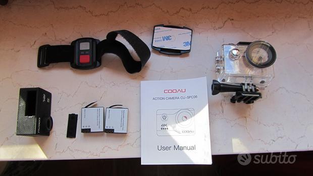COOAU Action Cam HD 4K