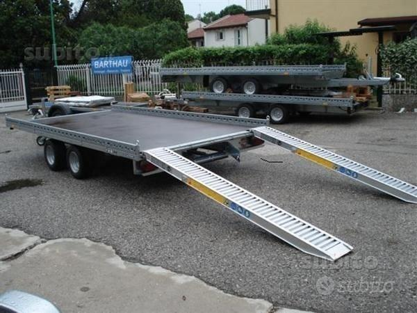 Rimorchio Tedesco porta merci 401x203 con rampe