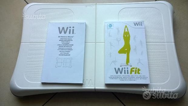 Wii Balance Board con gioco Wii Fit