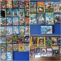 38 films dvd e 13 vhs cartoni animati x bimbi
