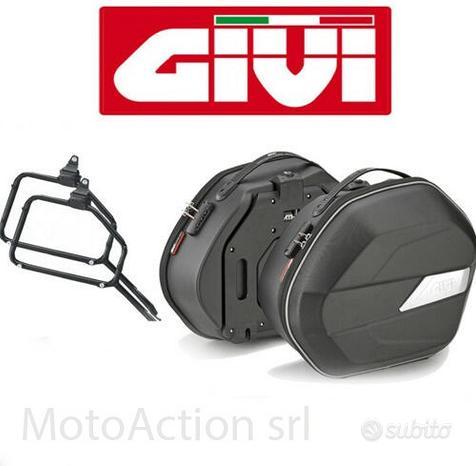 Kit Valigie Laterali Givi + Staffe per Honda NC750