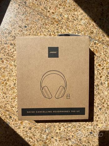 Bose Noise Cancelling 700 UC ( black ) NUOVE
