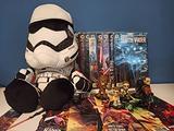 Lotto Star Wars Fumetti + Funko e altro