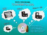 Riversamenti di videocassette VHS/Video8/MiniDV