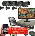 Kit videosorveglianza completo 4 canali 1080p