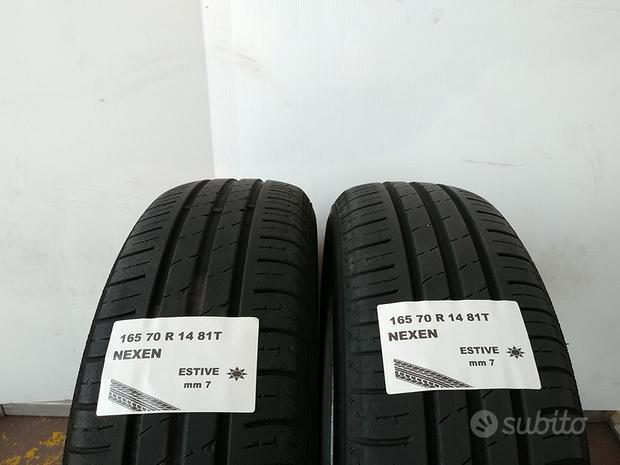 Gomme usate 165 70 r 14 hankook