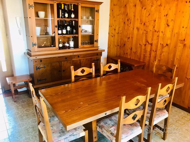 Sala da pranzo anni 70-80