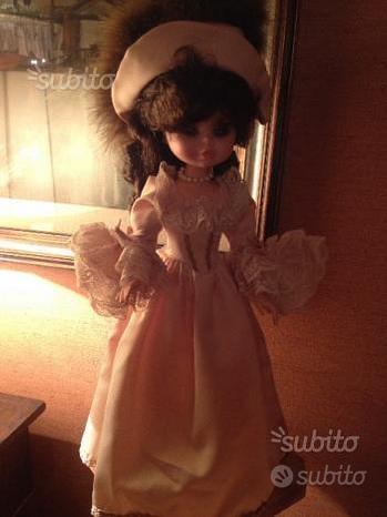 Bambola da collezionismo anni'70 marca FURGA