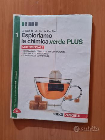 Libro esploriamo la chimica.verde plus 1