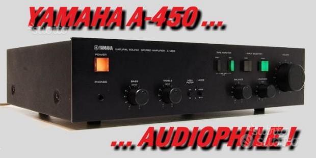 Amplificatore HI-FI stereo Yamaha A-450