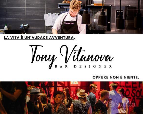 Tony Vitanova   Bar Designer   Fabbrica Arredo Bar