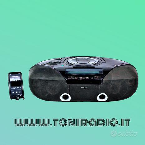 Cassa bluetooth speakers philips az2030/00 portati