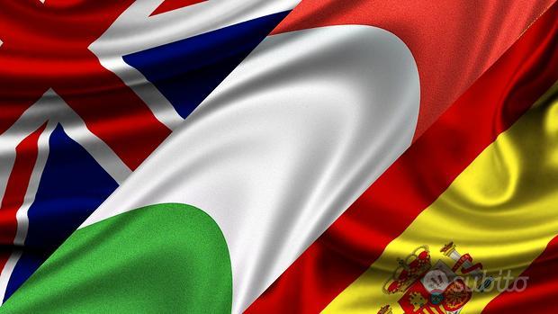 Lezioni inglese-spagnolo-italiano