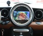 Autoradio navigatore mini r56 57 60 silver carplay