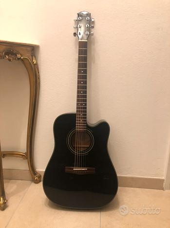 Chitarra Acustica Fender elettrificata