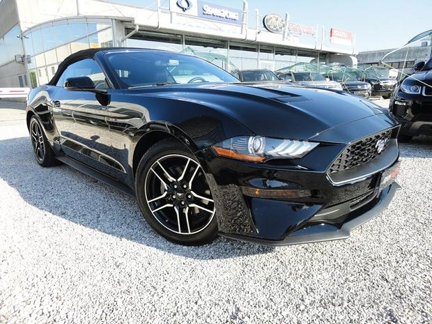 FORD Mustang Convertible 2.3 EcoBoost aut. Musta