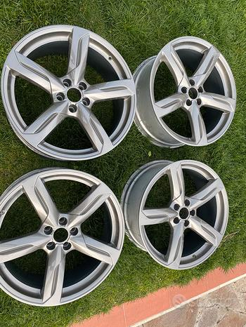 Cerchi originali Audi Q5 S Line 20 pollici ET33