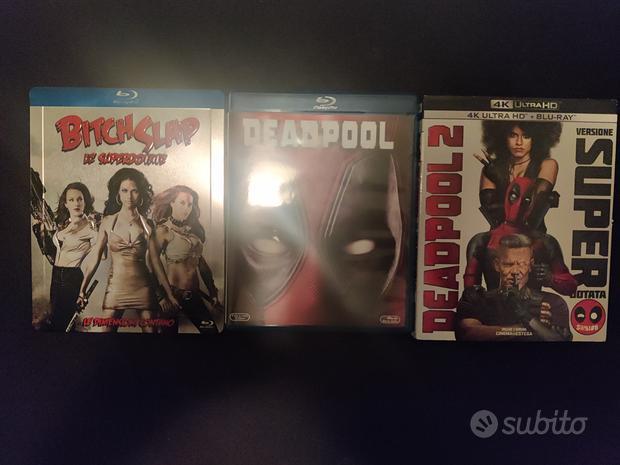 Lotto film in blu ray disc Deadpool Marvel