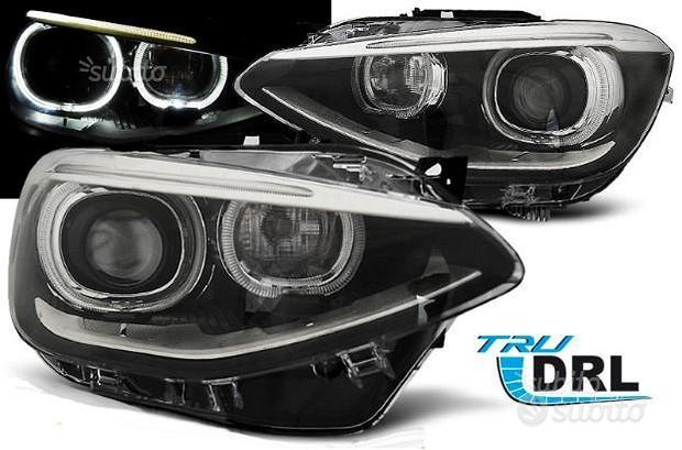 FARI ANTERIORI ANGEL EYES BMW F20 11-15 Xenon look