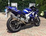 Yamaha YZF-R6 Blu PERFETTA scarico MIVV acc PIRELL