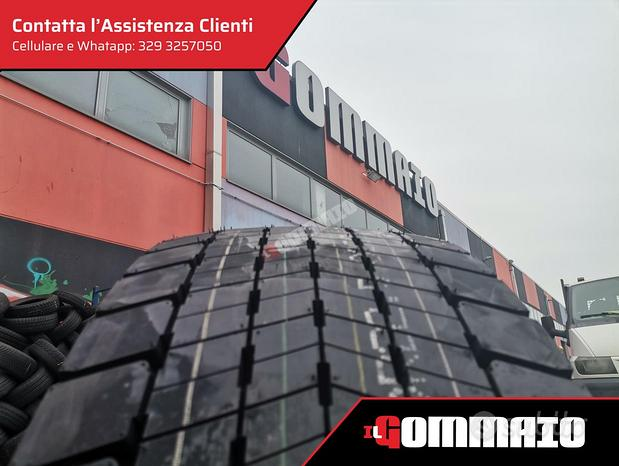Gomme nuove 315 70 R 22.5 LINGLONG ESTIVE