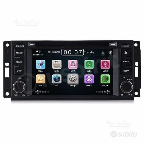 DVD autoradio navigatore Jeep, Chrysler, Dodge