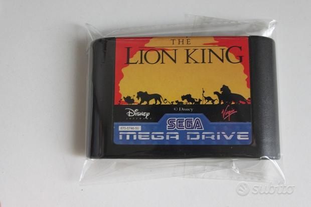 Disney the lion king il re leone sega mega drive g
