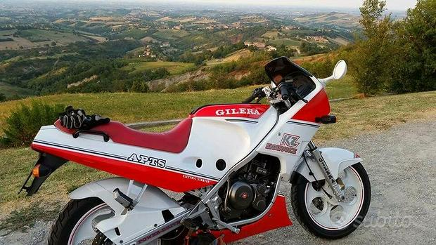 Moto Gilera KZ Endurance 125 - 1987