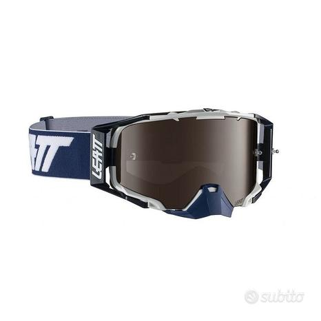 Maschera Leatt velocity 6.5 blu / bianco