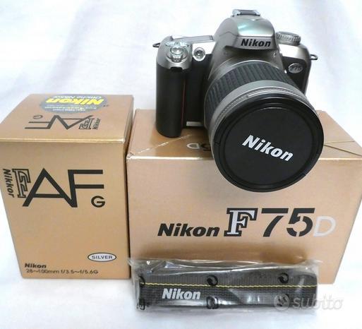 NIKON F75D + 28-100mm AF