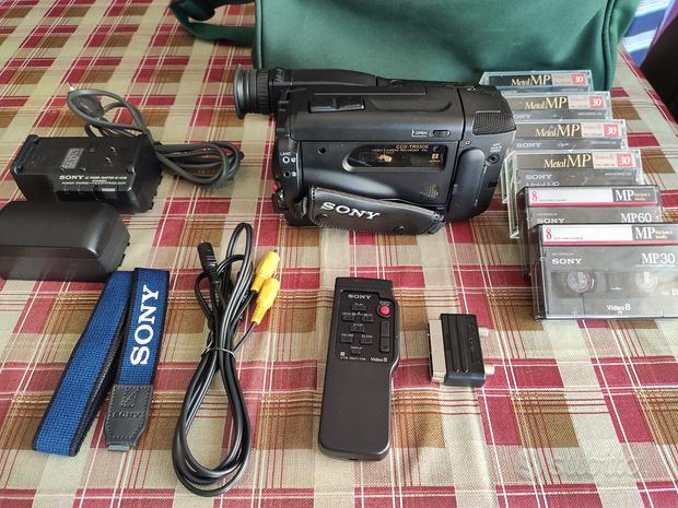 Telecamera Sony CCD-TR550E 6 Cassette