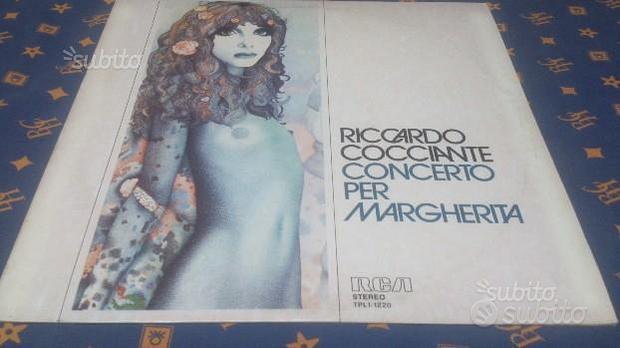 """Lp 33 giri """"R.Cocciante-Concerto per Margherita"""""""