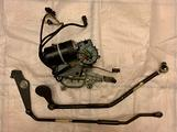 Bmw e30 cabrio motore elettrico cappotta