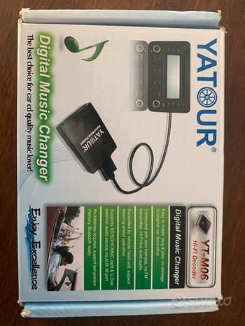 Yatour YT-M06 VW8D Adattatore USB SD AUX MP3 Auto