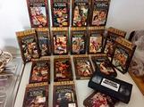 VHS film Ulisse / Sandokan / Ben Hur / ecc ecc