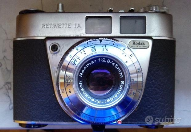 Camera Kodak Retinette 1A + Flash esterno
