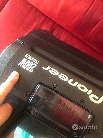 Subwoofer Amplificato Pioneer 200 watt