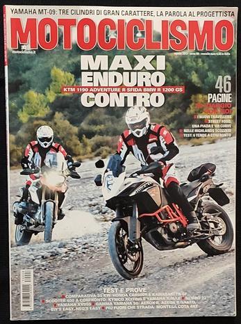 Motociclismo 8/2013 Ktm 1190 - Bmw R 1200 Gs