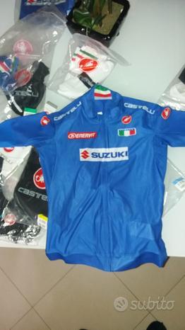 Completo ciclismo Italia Castelli