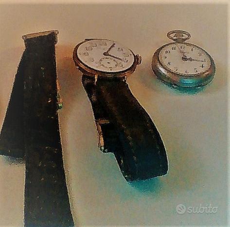 Orologi antichi da polso e non