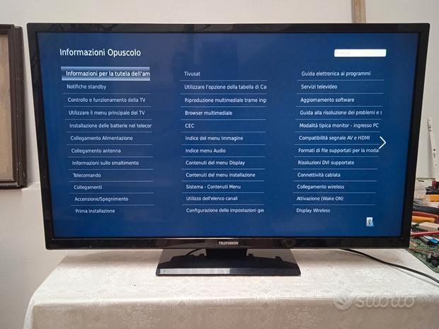 """TV Telefunken Smart 32"""" Led Full HD TE3226B40Q2D"""