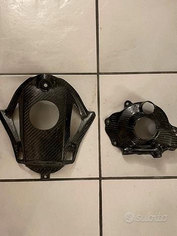 Protezioni cmt in carbonio x honda crf 250 2018-20