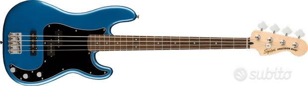 Fender Squier AFF P BASS PJ LRL BPG LPB