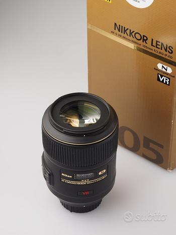 NIKON AF-S 105mm F2.8 G IF ED VR FOTOLANDIA