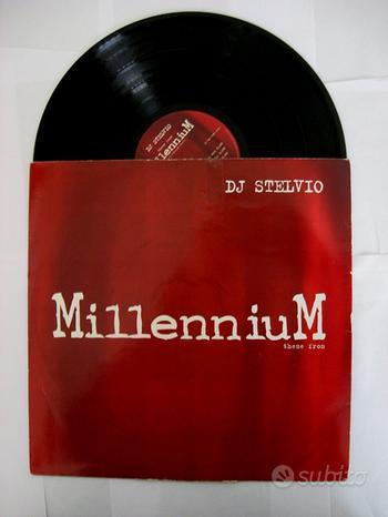 33 giri del 1997- DJ Stelvio-theme of millennium
