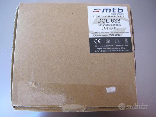 MTB Digi charger DCL-638 can NB 11L